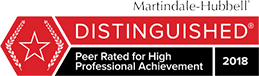 Martindale-Hubbell Distinguished Rating