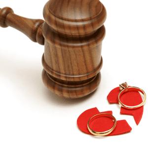 Gavel with a Broken Heart